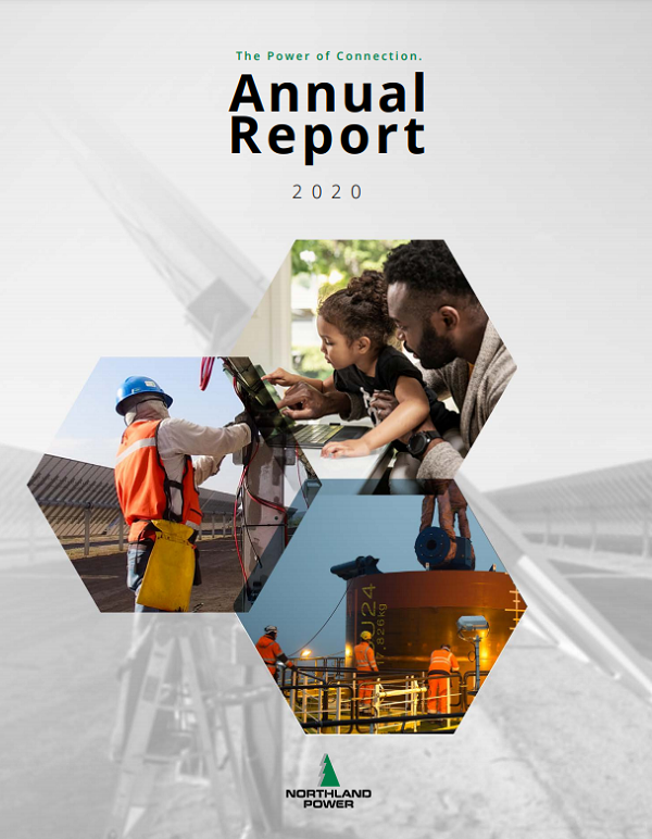 Northland Power Annual Report 2020 Cover