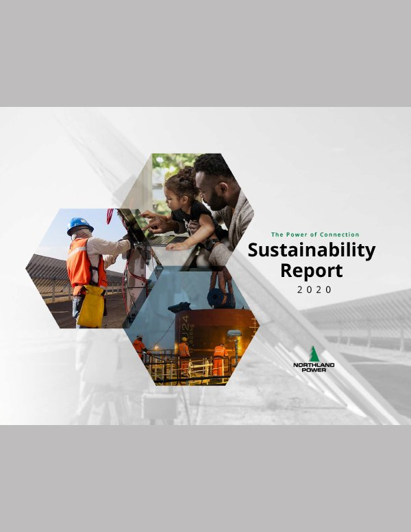 Northland Power Sustainability Report Cover
